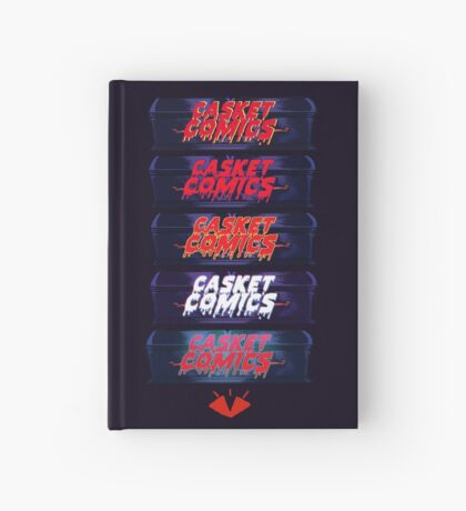 Caskets Comics Logo Hardcover Journal
