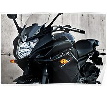 Yamaha Diversion F front-side view Poster