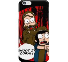 Rick and Coral iPhone Case/Skin