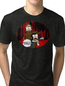 Rick and Coral Tri-blend T-Shirt