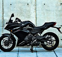 Yamaha Diversion F profile view by htrdesigns