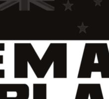 remain in black [blackblack iteration] Sticker