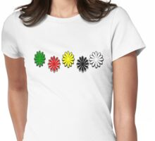 Colors of life Womens Fitted T-Shirt