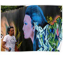 Graffiti Artist Extraordinaire Poster