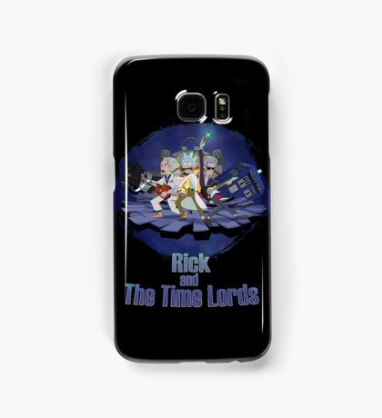 Rick and the Time Lords Samsung Galaxy Case/Skin
