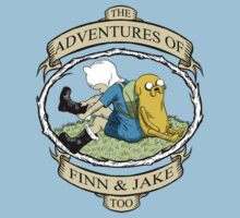 The Adventures of Finn & Jake, Too by ShayLeiArt