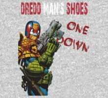 Dredd Man's Shoes by inesbot