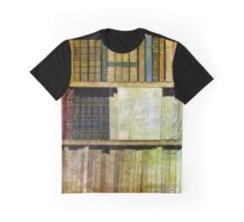 The Antique Book Case Graphic T-Shirt