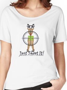 Reindeer, It's what's for dinner. Women's Relaxed Fit T-Shirt