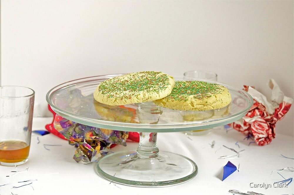 Cookies, Keeping Santa happy by Carolyn Clark