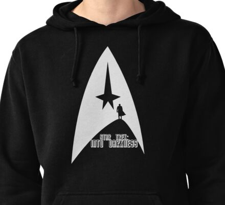 Into Darkness (on dark colours) Pullover Hoodie