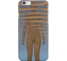Reflection, Crosby Beach iPhone Case/Skin
