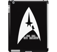 Into Darkness (on dark colours) iPad Case/Skin