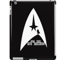 Into Darkness (on dark colours) iPad Case/Skin
