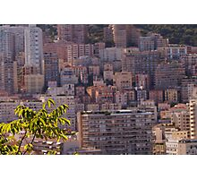 Blurry Monaco  Photographic Print
