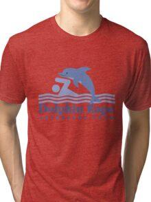 Dolphin Rape Adventure Tours Tri-blend T-Shirt