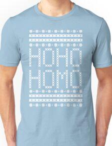HO HO HOMO CHRISTMAS SWEATER Unisex T-Shirt