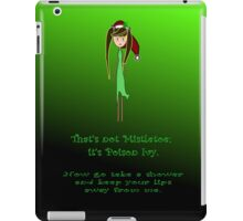 That's not mistletoe iPad Case/Skin