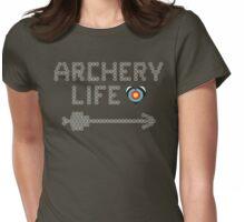 Archery life - Arrow & heart (minitargets) Womens Fitted T-Shirt