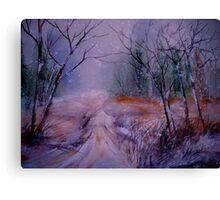 Nothing Here.... Canvas Print