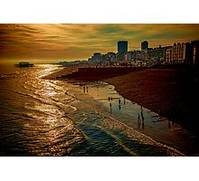A September Evening In Brighton Photographic Print