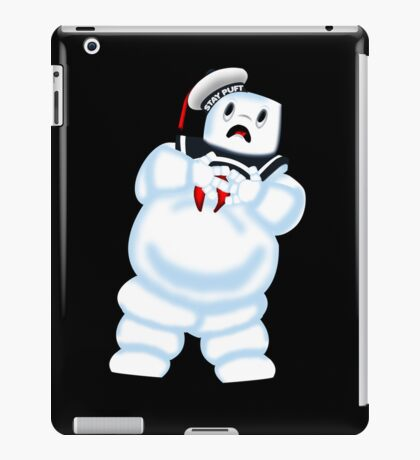 Scared Mr. Stay Puft. iPad Case/Skin
