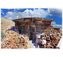 Ore Sample Storage Cabin Poster