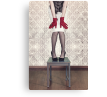 red gloves Canvas Print