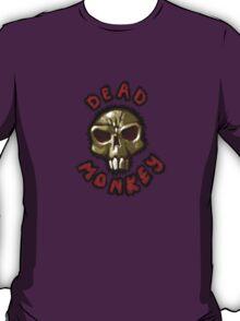 Dead monkey skull painting T-Shirt