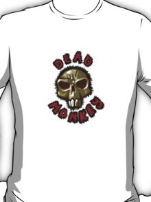 Dead monkey skull painting T-Shirt