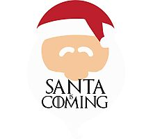 Santa is Coming 2 - Game of Thrones Photographic Print