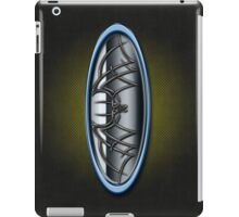 Classic Blue & Grey Batman Tribal iPad Case/Skin