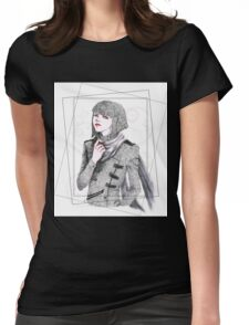 Patterned Style Womens Fitted T-Shirt