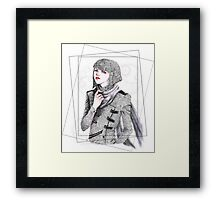Androgynous Framed Print