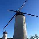 French windmill by katkeldeen