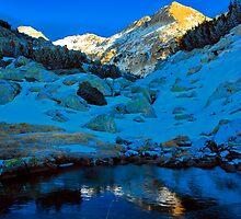 sunny peak by plamenx