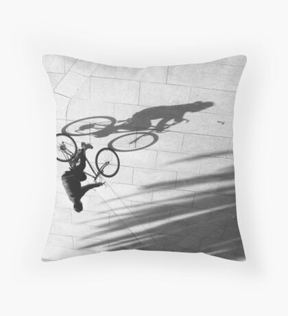 Flipping Shadows .... Throw Pillow