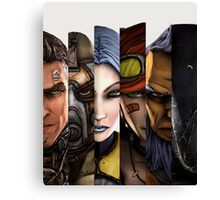 BOrderlands 2 Characters =2 Canvas Print