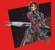 Mass Effect Shepard 01 by Beloup