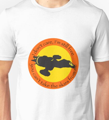 Free Skies (Full Front) Unisex T-Shirt