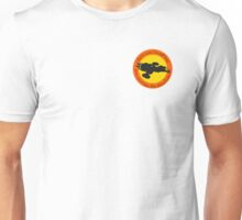 Free Skies (Left Chest) Unisex T-Shirt