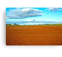 Beautiful Rich Dookie soil..... Canvas Print