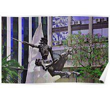 Don Quijote de la Mancha y Rocinante............... Poster