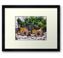 Logging Equipment January 2007 Framed Print