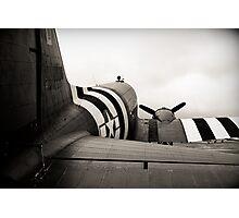 C-47 in monochrome Photographic Print