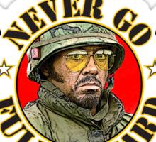 Never Go Full Retard (COLOR version) Sticker