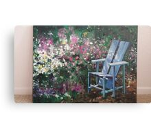 A chair of a garden in California oil painting Canvas Print