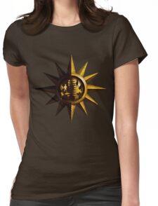 Golden Sun Womens Fitted T-Shirt