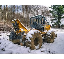 Cable Skidder Revisited January 2007 Photographic Print