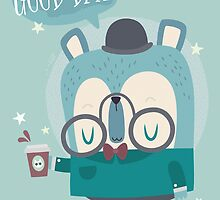 Snazzy Bear Says Good Day by Claire Stamper